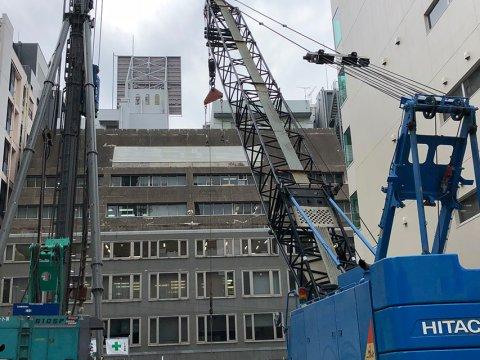 ホテルFORZA博多駅東 新築工事