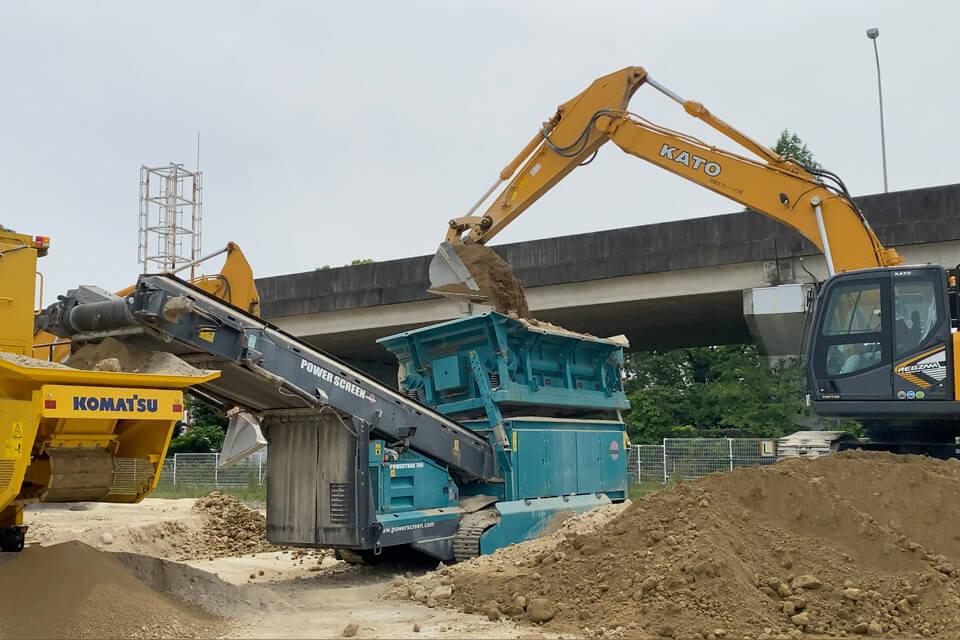 某大型流通倉庫 新築工事